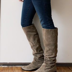 9bffa8a2c76 $230 Born Cricket Suede Over the Knee Boots 8